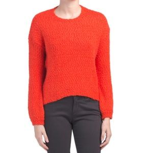 Anthropologie Yes/Lola Red Sweater